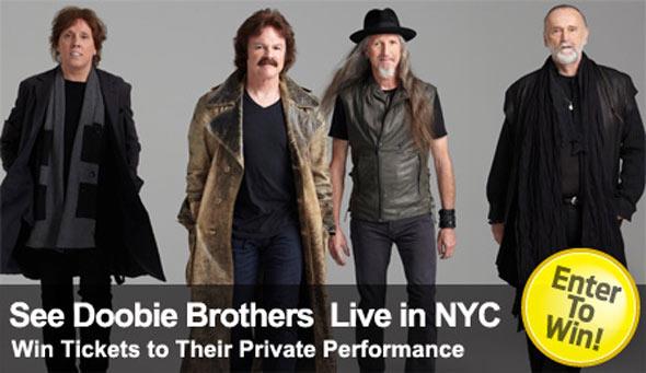 Doobie Brothers Ticket Giveaway