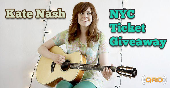Kate Nash Ticket Giveaway