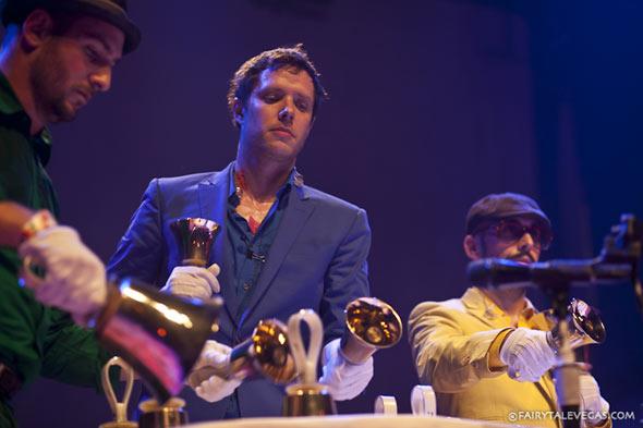 OK Go play with handbells