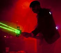 OK Go shoot lasers