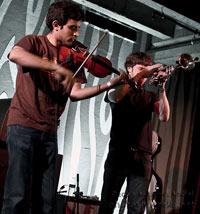 violin & trumpet
