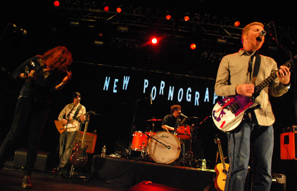 Not clear New pornographers snow white