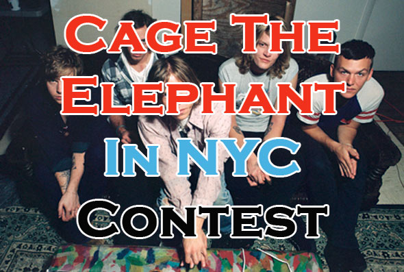 Cage the Elephant Ticket Giveaway