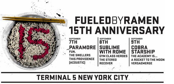 Fueled by Ramen 15th Anniversary
