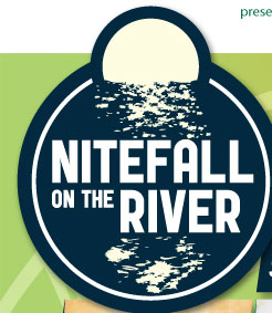 Nitefall on the River
