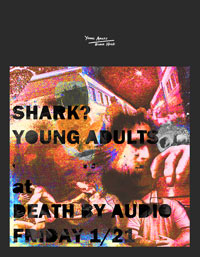 Shark? & Young Adults this Friday