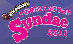 Ben & Jerry's Double Scoop Sundae