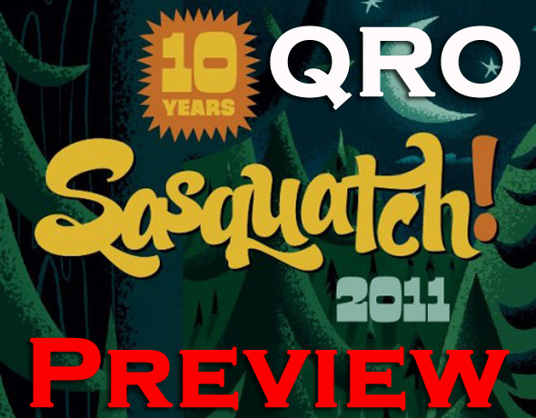 Sasquatch! 2011 Preview