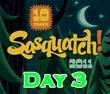 Sasquatch! 2011 : Day Three Recap