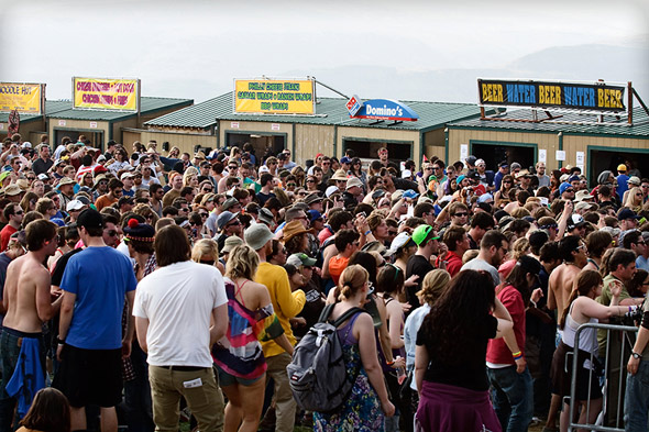 Sasquatch! stalls