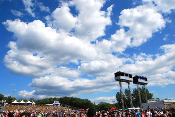 skies of Montreal