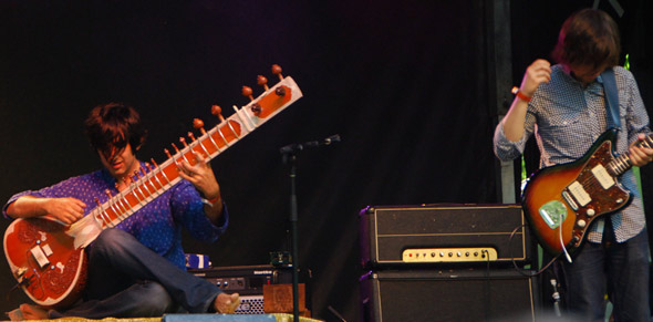 bring on the sitar!