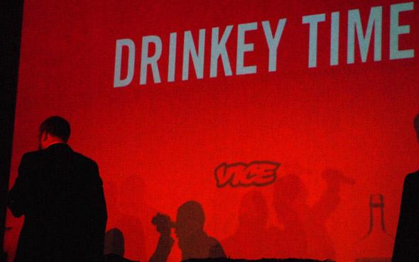 drinkey time