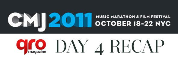 CMJ 2011 Day Four Recap