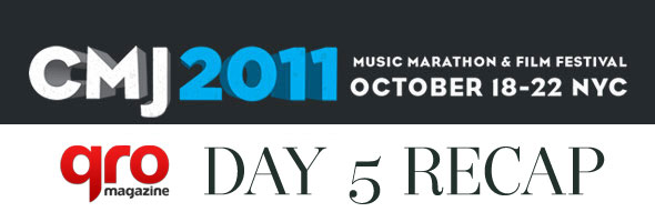 CMJ 2011 Day Five Recap