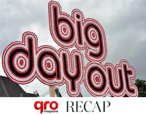 Big Day Out 2012 : Auckland Recap