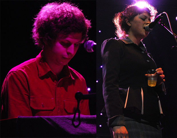 Michael Cera & Alia Shawkat (of Arrested Development)