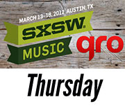 SXSW 2012 Thursday Recap