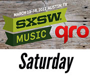 SXSW 2012 Saturday Recap