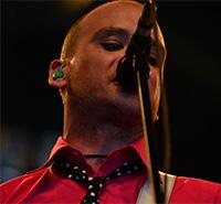 Matt Skiba of Alkaline Trio