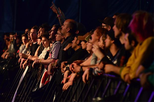 Groezrock crowd