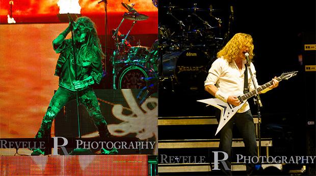 Rod Zombie & Megadeth