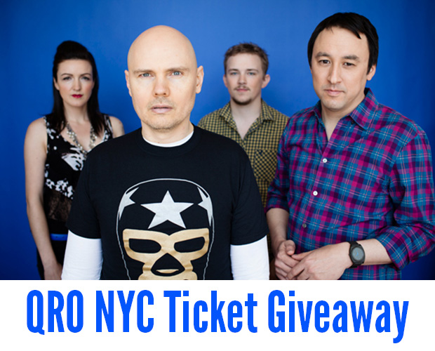 Smashing Pumpkins Ticket Giveaway