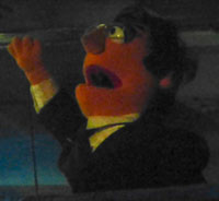 puppet Colbert