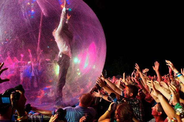 Wayne Coyne bubble