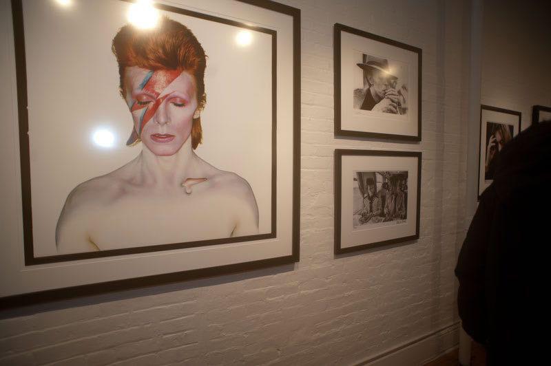 David Bowie exhibit