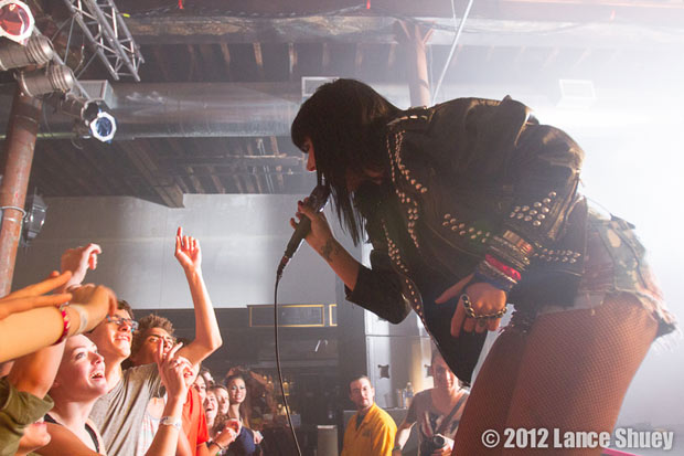 Sleigh Bells at Wooly's