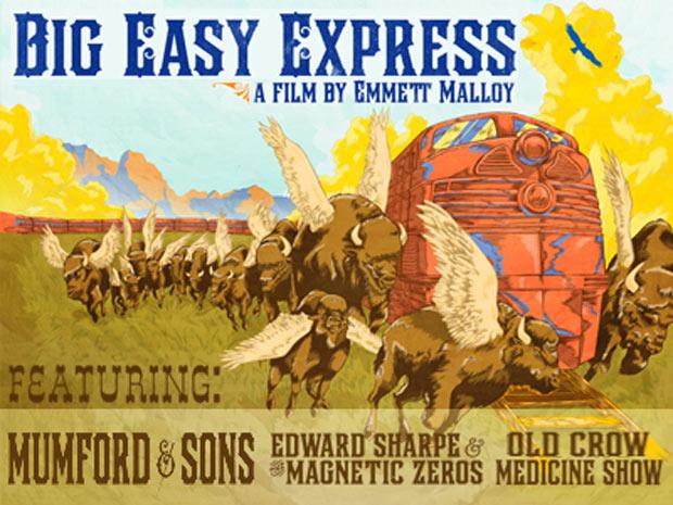 'Big Easy Express' Screening : Live