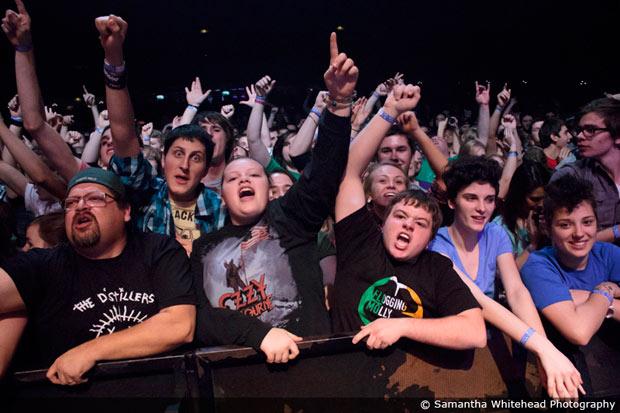 The Midland crowd