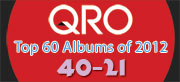 Top Albums of 2012 - 40-21