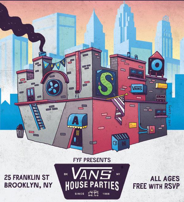 Vans House Parties