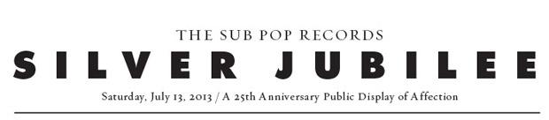 Sub Pop Silver Jubilee