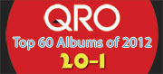 Top Albums of 2012 - 20-1