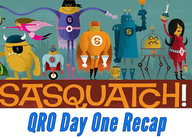 Sasquatch! Day One Recap