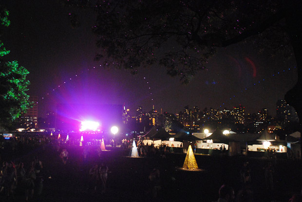 Governors Ball in the city
