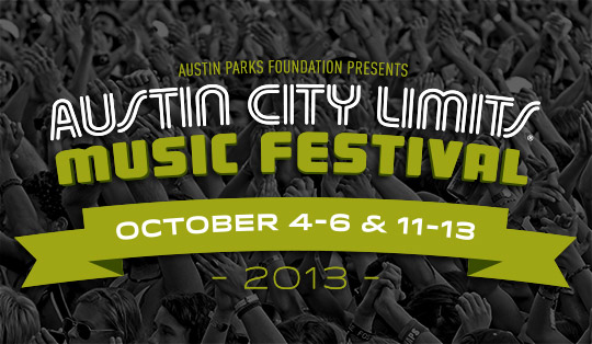 Austin City Limits 2013 Preview