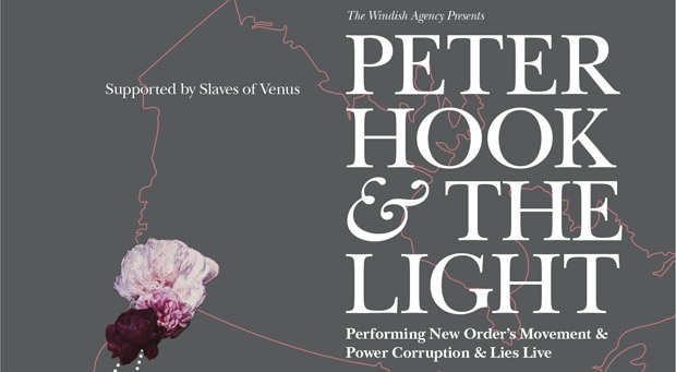 Peter Hook & The Light 2013 Tour Preview