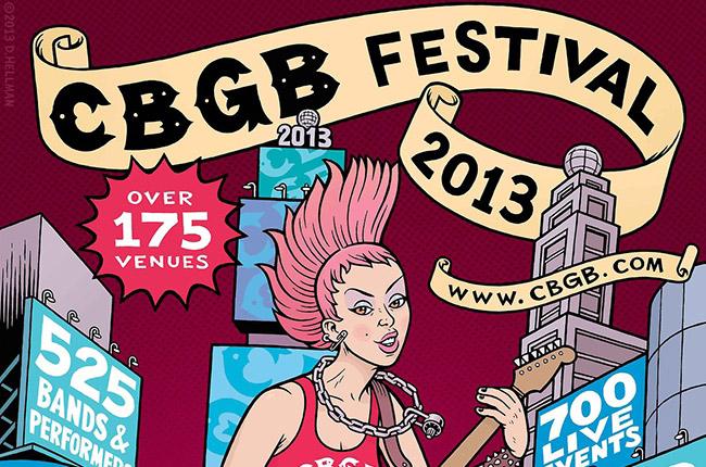 CBGB Festival 2013 Preview