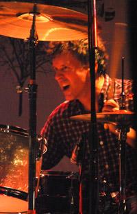 Mac McCaughan on drums