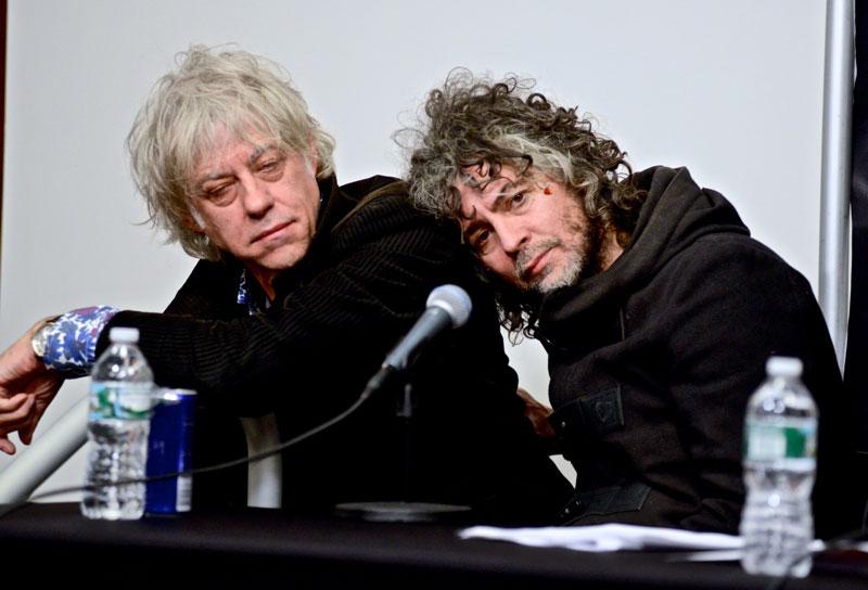 Bob Geldof & Wayne Coyne