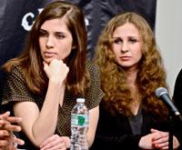 Nadezdha Tolokonnikova and Maria Alyokhina