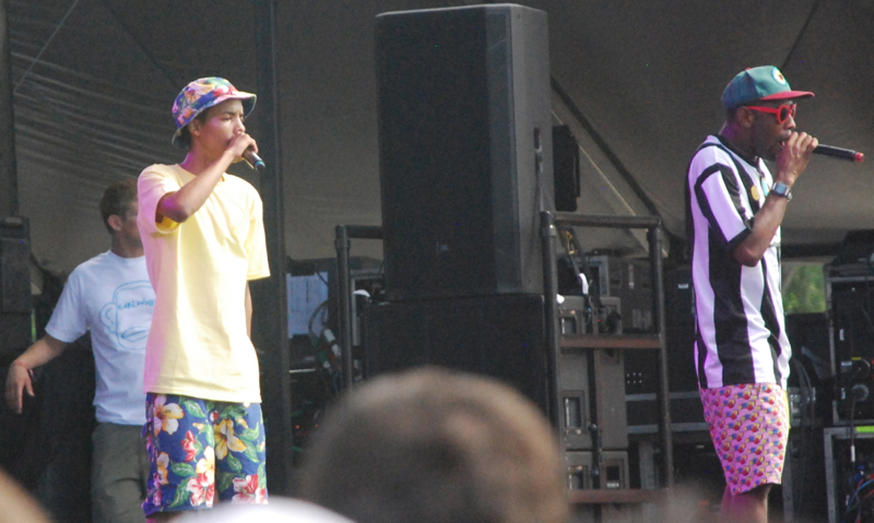 Tyler, the Creator (and Earl Sweatshirt)