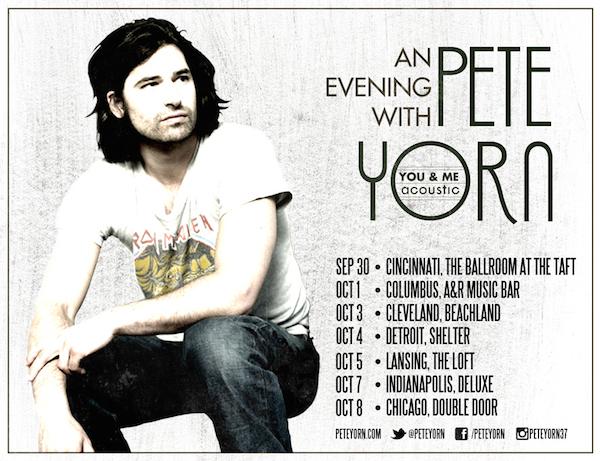 Pete Yorn Tour Preview