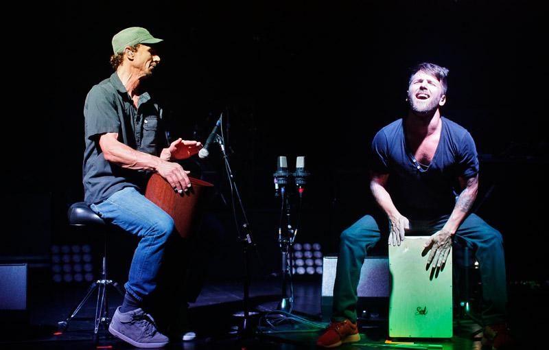 Jeffree & Zach wood box solos