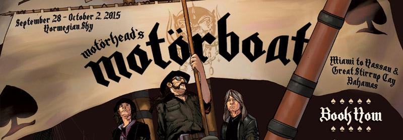 Motörhead's Motörboat