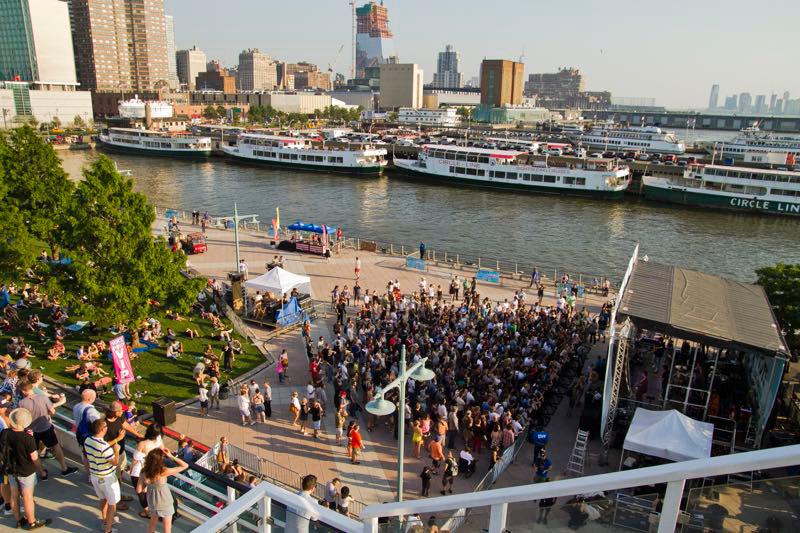 Hudson River Park's Pier 54